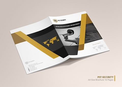 Company Profile Design for PST Security