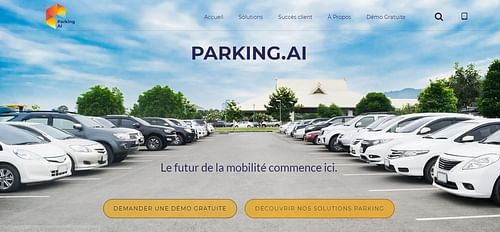 Parking AI - Application web