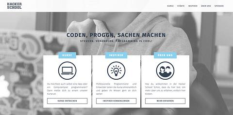 Hacker School - Lead Agency (pro bono)
