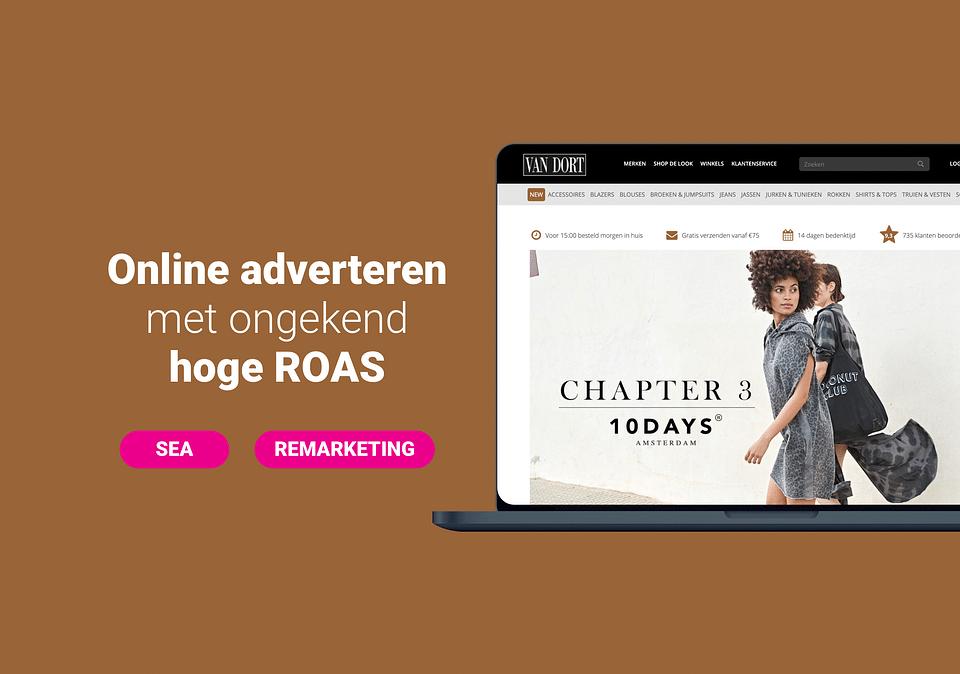 Van Dort Mode - Online adverteren