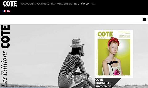Côte Magazine Magazine luxe, trendy et style life