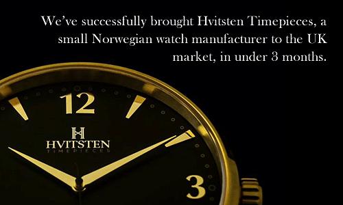 Hvitsten Timepieces - Branding & Positioning
