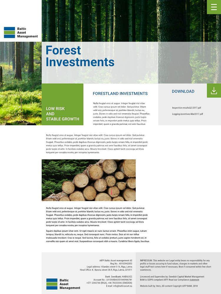 Forest Asset Management Fund