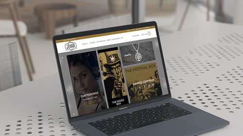 E-commerce platform for Jennaleuven.com - Branding & Positioning