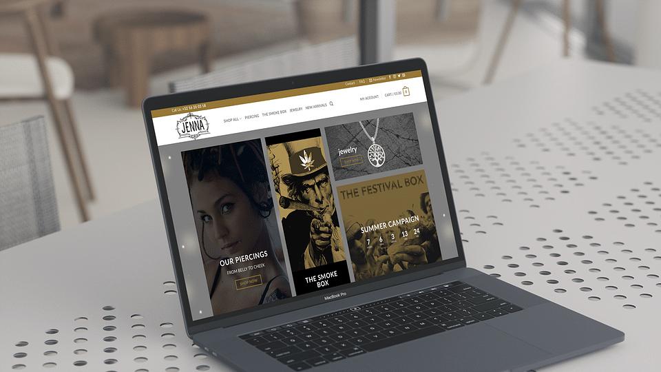 E-commerce platform for Jennaleuven.com