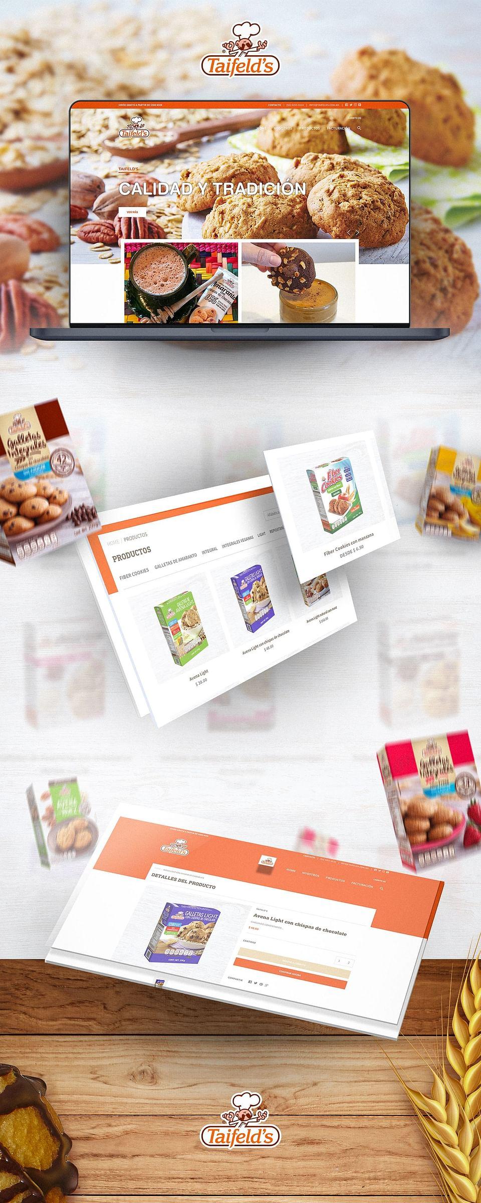 Sitio web con e-commerce