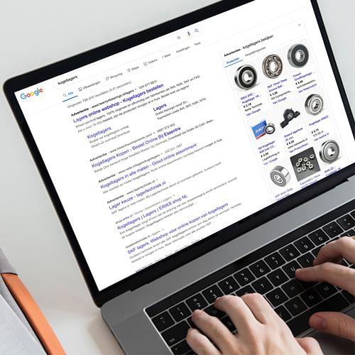 Gratis vindbaarheid voor Twenty4Bearings - Digital Strategy