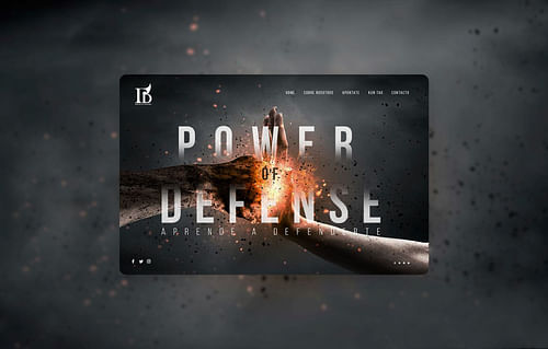Landing | Power Of Defense - Estrategia digital