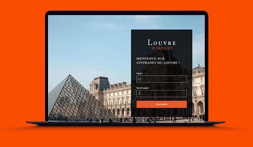 Musée du Louvre I Intranet - Création de site internet