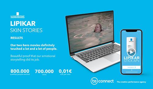 Content Creation for La Roche-Posay: Lipikar - Stratégie digitale