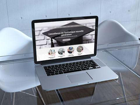 Création site e-commerce pour du e-learning