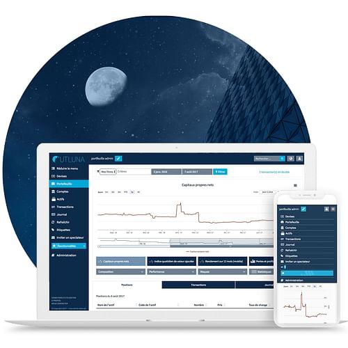 UTLUNA – Une application de trading performante - Application web