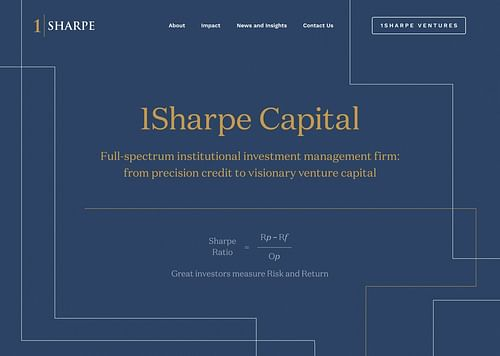 New websites for an institutional investment giant - Branding & Positioning
