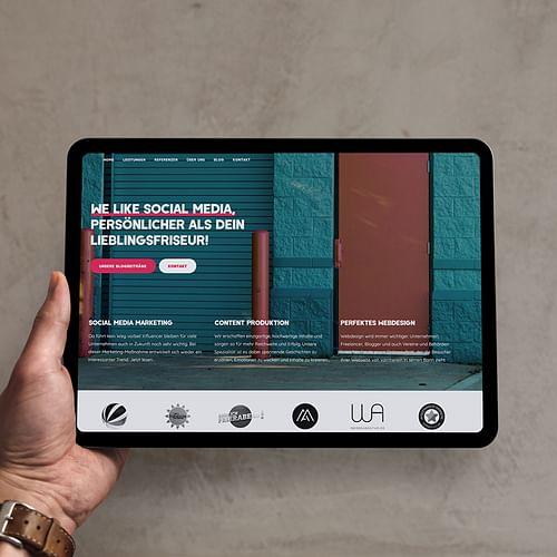 Relaunch der Firmenwebsite - Onlinewerbung