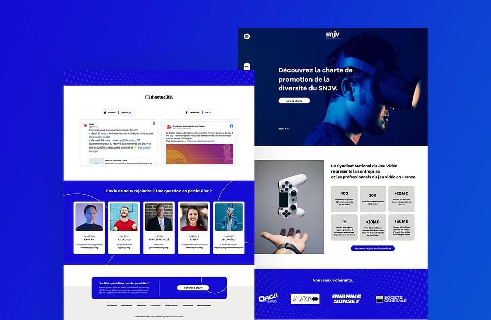 Refonte site web SNJV