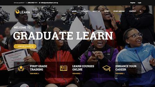Graduate Learn's Project - Website Creation