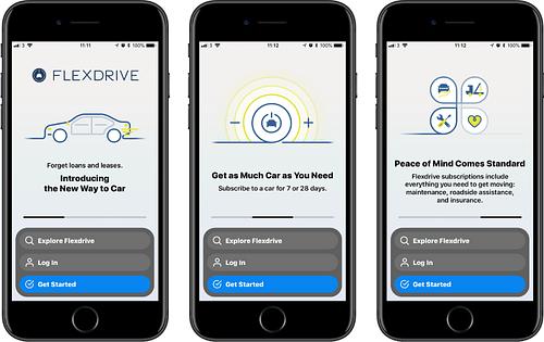 Flexdrive - Mobile App