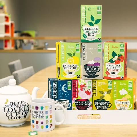 Installer la notoriété d'une marque de thé
