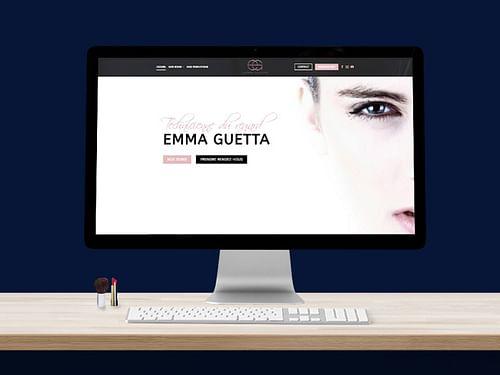EMMA GUETTA - Création site vitrine - Création de site internet