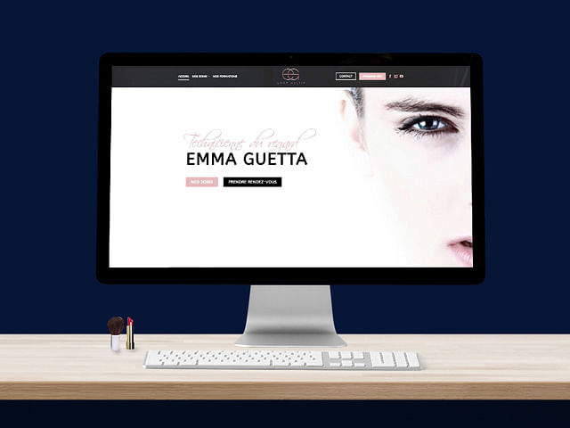 EMMA GUETTA - Création site vitrine