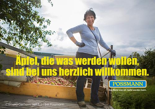 Familienkelterei Possmann - Werbung