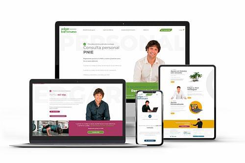 Edgar Barrionuevo Profesional de la salud - Creación de Sitios Web