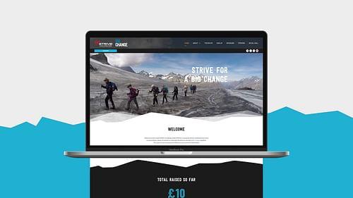 Virgin Strive Challenge - Website Creation