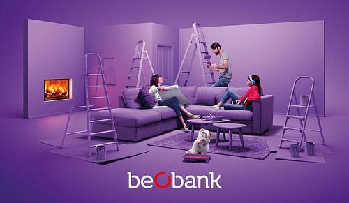 Beobank - Rebranding - Publicité