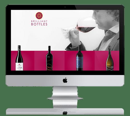 Webshop voor wijnimporteur - Website Creatie