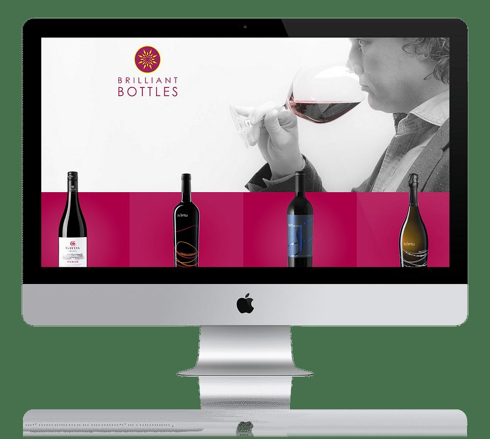 Webshop voor wijnimporteur