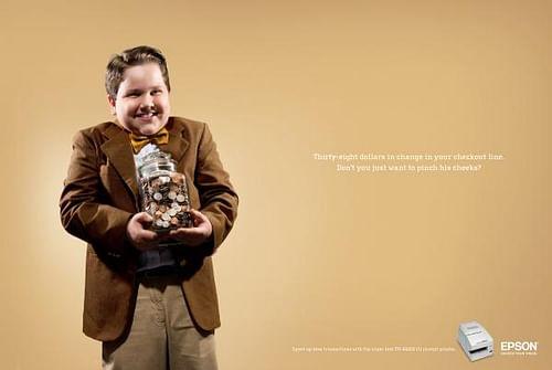 Piggy banker - Advertising