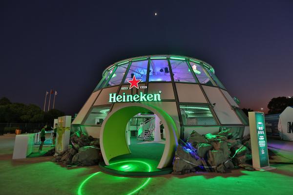 2013 Heineken Shanghai ATP - Advertising