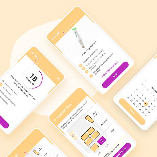 Voluntis/ Application mobile - Mobile App