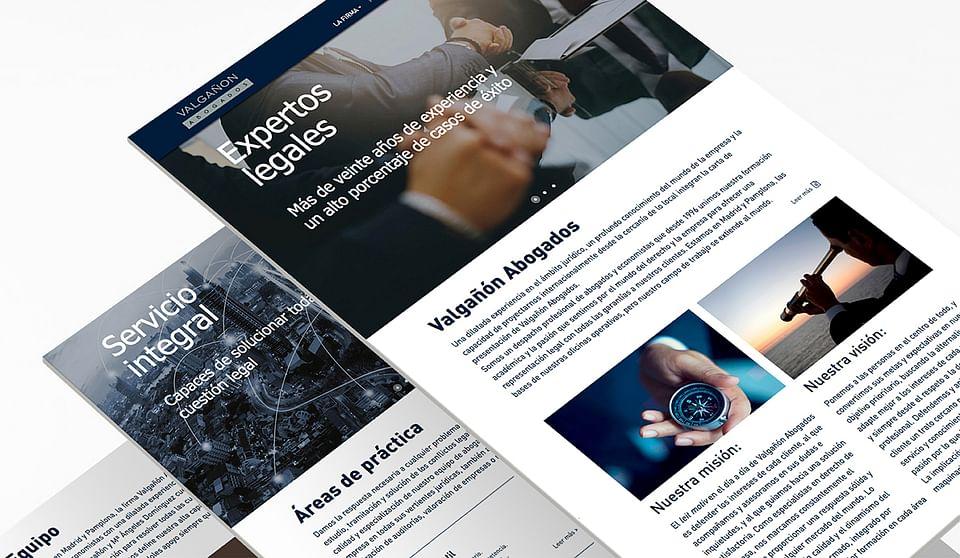 Diseño web Valgañón