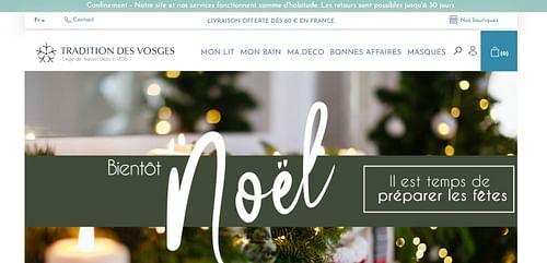 Tradition Des Vosges - E-commerce
