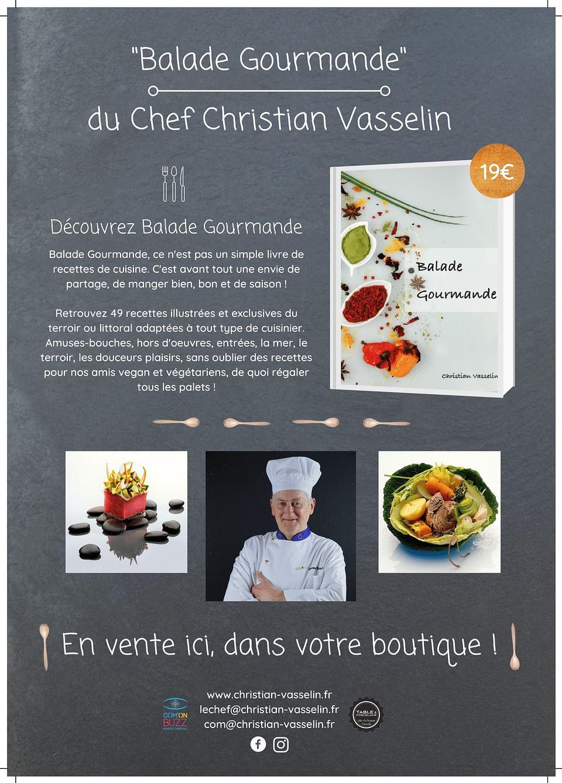 Campagne publicitaire du Chef Christian Vasselin