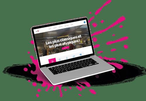 Site vitrine pour entreprise de travail adapté - Website Creatie