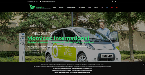 Momicox - Web Applicatie