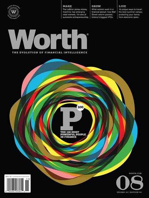 WORTH MAGAZINE COVER SERIES, 3 - Graphic Design