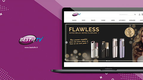Création du site e-commerce Best of TV