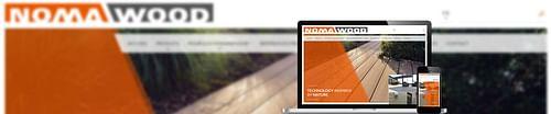 Développement d'un site Web pour Nomawood - Création de site internet