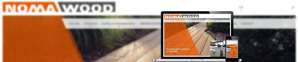 Développement d'un site Web pour Nomawood