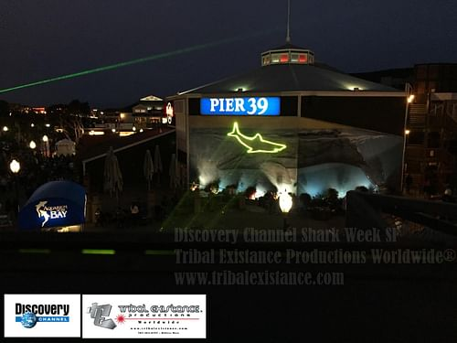 Discovery Channel Shark Week Film Laser Graphics - Advertising