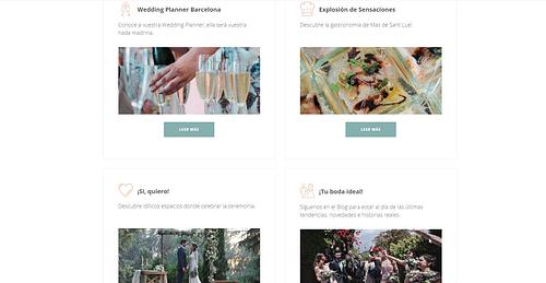 Mas de Sant Lleí - Creación de Sitios Web