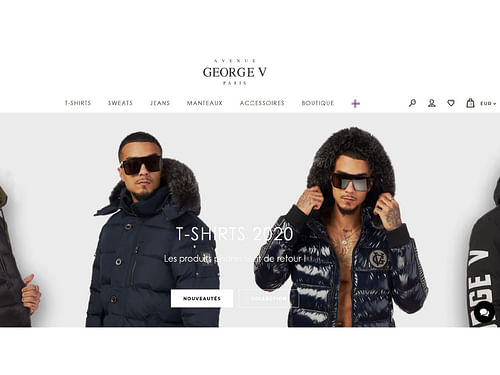 Avenue George V - E-commerce