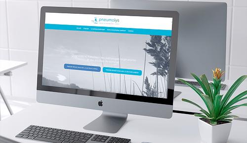 Création du site vitrine Pneumolys - Création de site internet