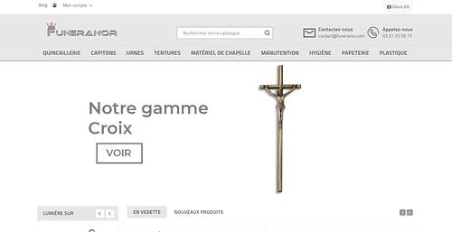 Site Ecommerce - Création de site internet