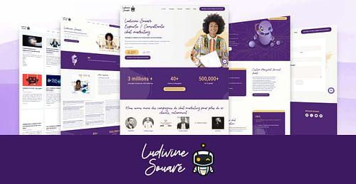 Ludivine Souaré : Création de site Wordpress - Référencement naturel