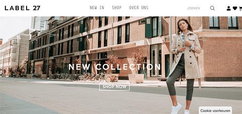 Label27 Webshop - Website Creation