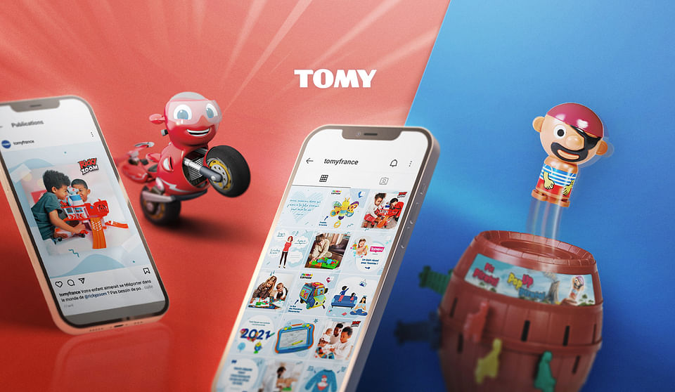TOMY : Social media management & Influence